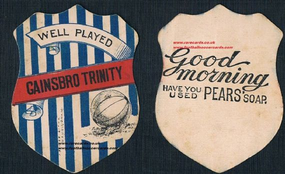 1890s Gainsborough Trinity Pears Soap
